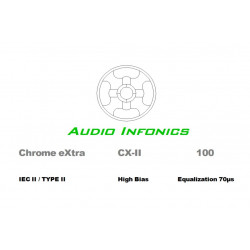 Audio Infonics Chrome eXtra CX-II 100