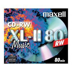 Maxell XL-II 80 CD-RW 80 minuten voor audio