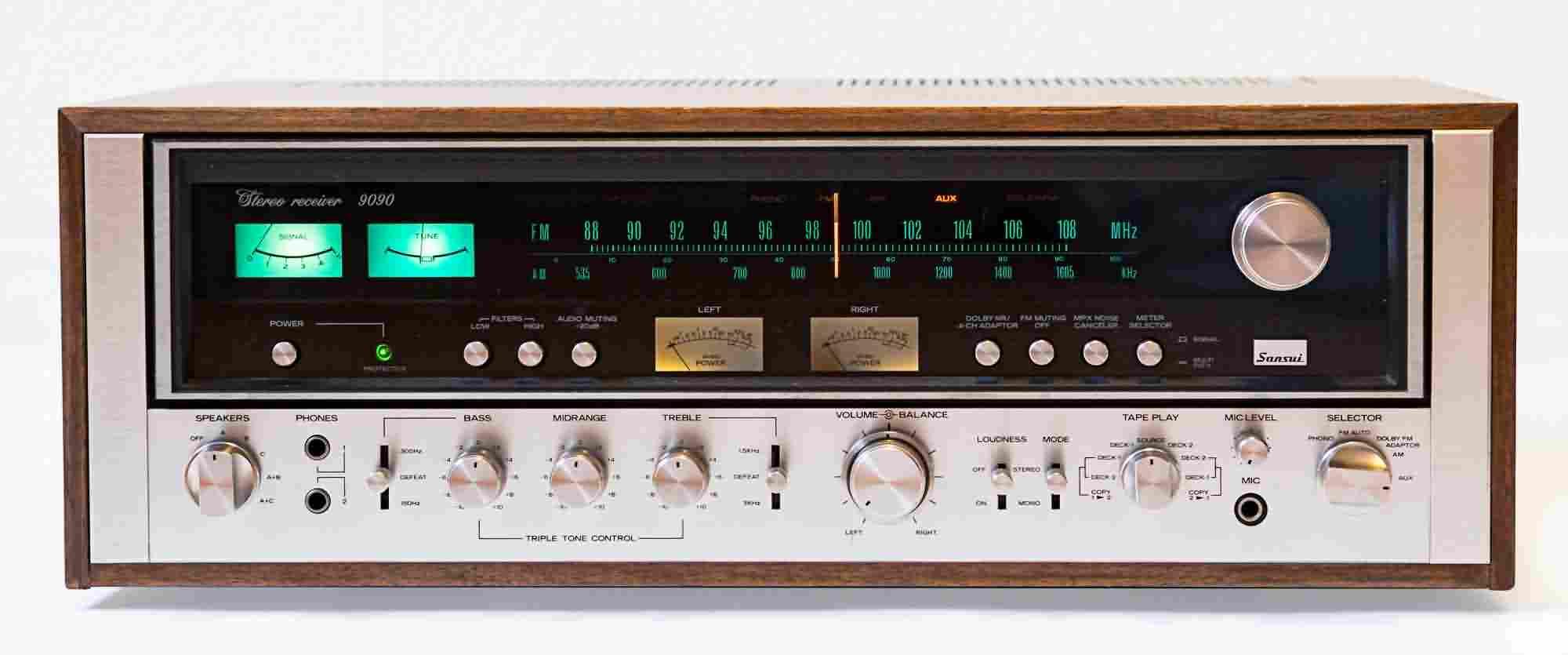 Sansui Receivers Repareren Onderhouden Restaureren En Reviseren Dp Audio Technische Dienst