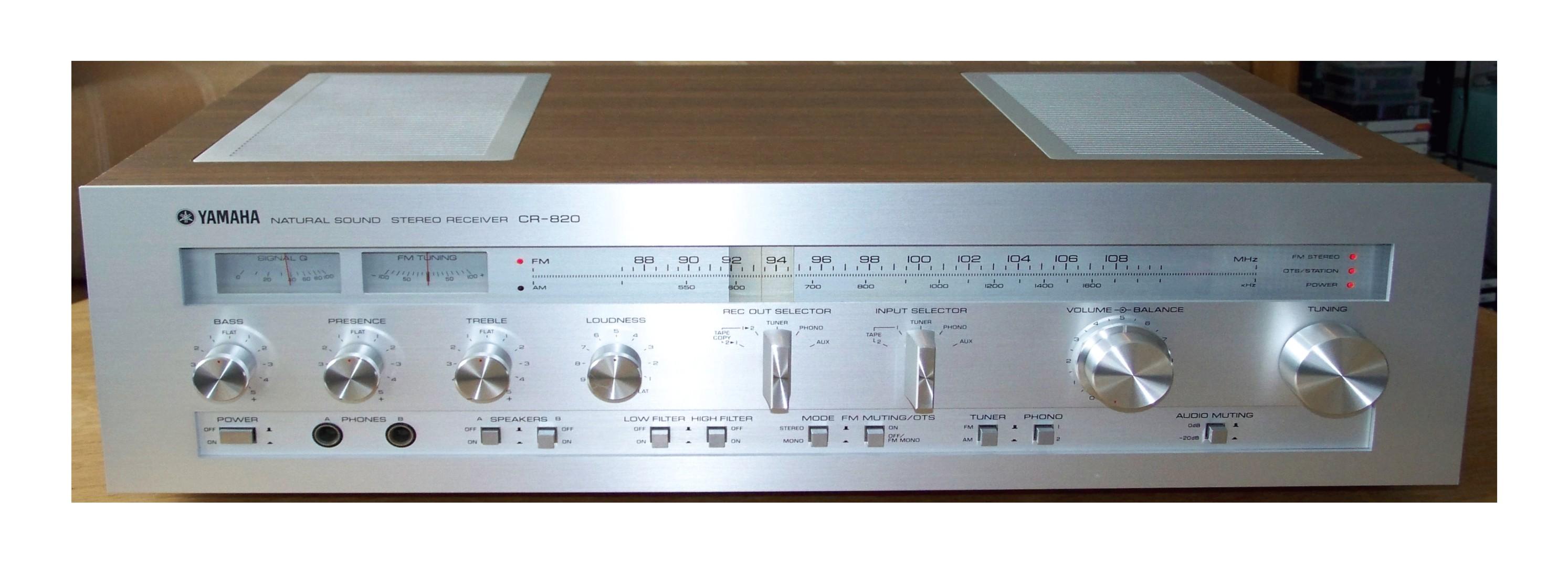 Yamaha CR-820 620