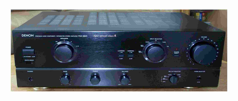 Denon PMA-980R 860 880R 960 1060 1080R 1560