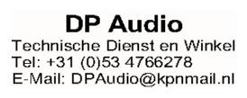 DP Audio - Technische Dienst en Winkel