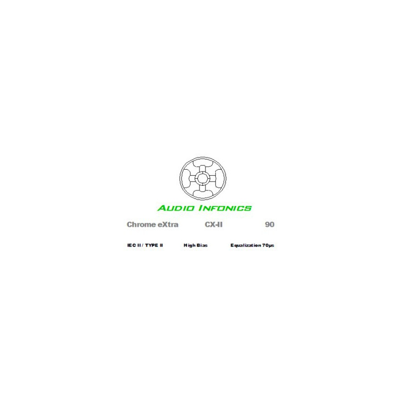 Audio Infonics Chrome eXtra CX-II 90