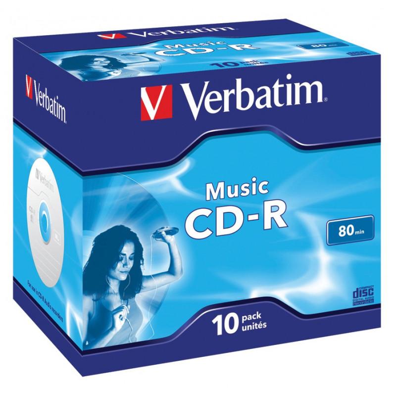 Verbatim Music CD-R 80 minuten voor audio