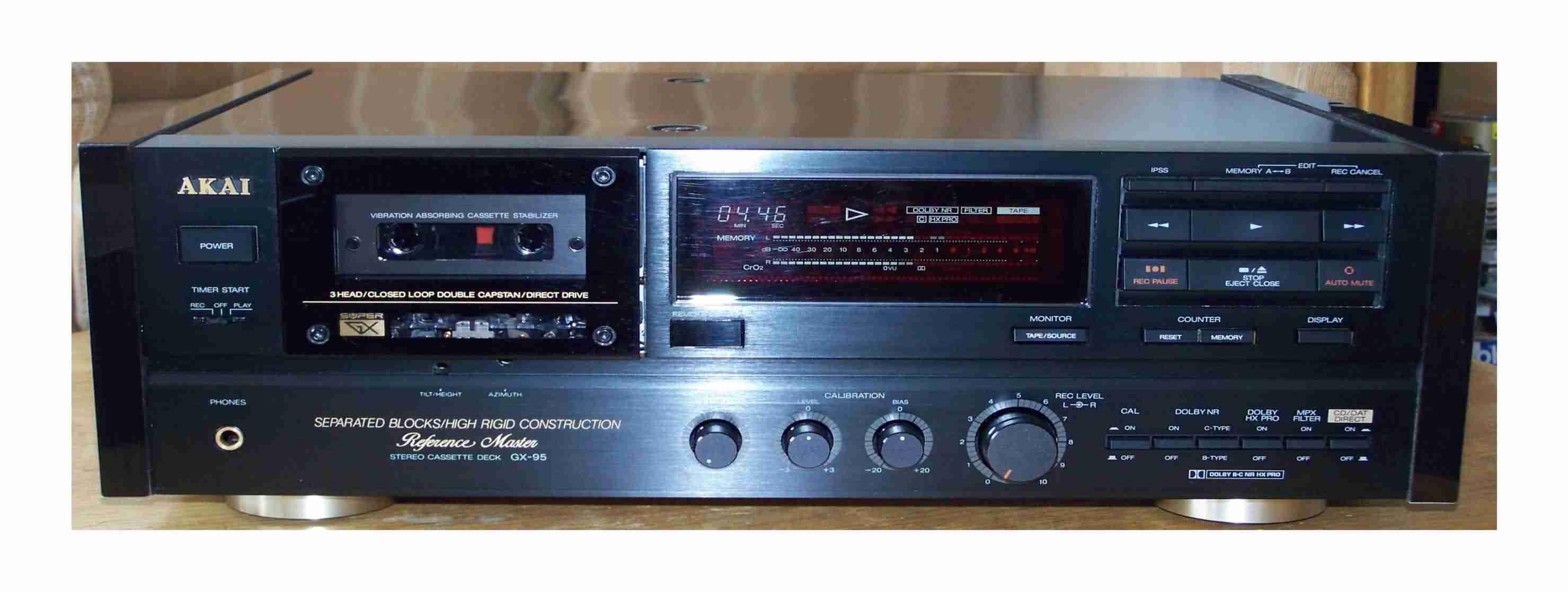 Akai GX-95 75 mk1 mk2 mkI mkII