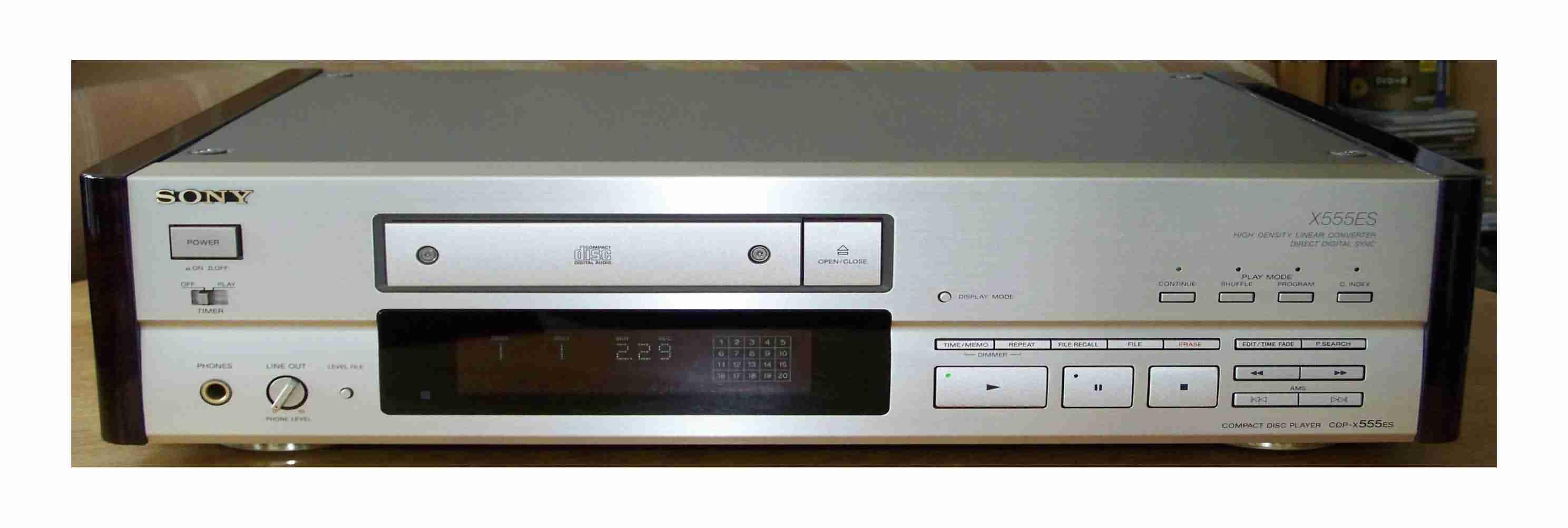 Sony CDP-X555ES X333ES X339ES X557ES X559ES X777ES X779ES